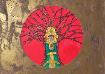 Goddes Of Tree Of Life.